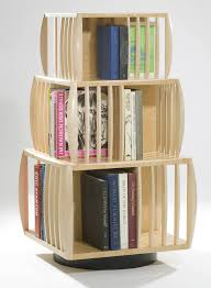 Teen Bookcase Decorating Breathtaking Revolving Bookcase For Charming Home