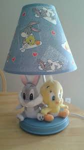 Baby Lamp Baby Looney Tunes Nursery Lamp Good Condition For Sale In Perris
