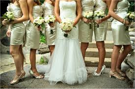 ivory gold bridesmaid dresses dress images