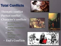 the scarlet letter conflicts