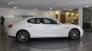 red maserati sedan maserati ghibli white with red lawton brook youtube