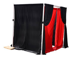 pipe and drape enclosure photo booth 2 wallpaper home design photos