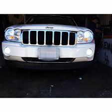 2005 jeep grand fog lights hid headlights led jeep on instagram