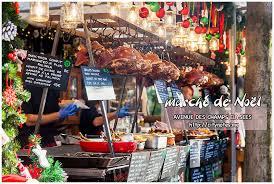 cuisiner avec des l馮umes 市集在巴黎 香榭大道聖誕市集marché de noël 圖多 城市 食畫誌