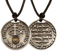 mens christian jewelry mustard seed jewelry coins necklaces pins more