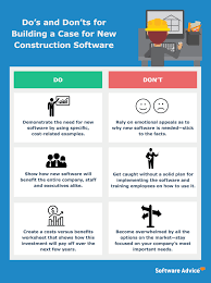how to build a construction software business case