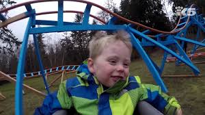 oak harbor dad builds backyard roller coaster for son youtube