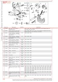 massey ferguson rear linkage page 314 sparex parts lists