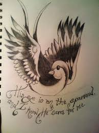 his eye is on the sparrow by xmellowdeex on deviantart