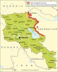 armenia on world map armenia travel advice gov uk