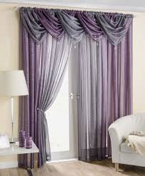 Purple Curtains For Nursery Curtain Phenomenal Gray And Purple Curtains Photos Ideas Curtain