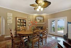 Country Dining Room Ceiling Fan Design Ideas  Pictures Zillow - Dining room ceiling fans