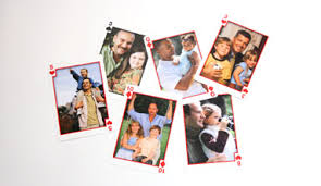 gift for custom photo cards create a deck