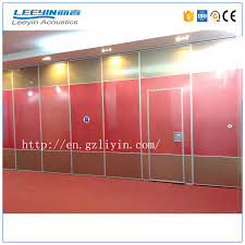 Movable Wall Partitions Soundproof Movable Partition Wall Soundproof Movable Partition