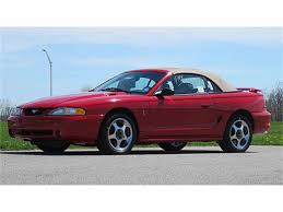 mustang of indianapolis 1994 ford mustang cobra indianapolis 500 pace car convertible for