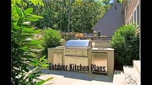 outdoor kitchen plans youtube