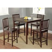 progressive furniture willow counter height dining table m d furniture sunderland black cherry dining set with counter table