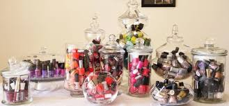 affordable and fun home storage ideas for your nail polish