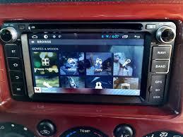 fj cruiser stereo upgrade android head unit speaker