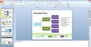 decision tree template powerpoint casseh info