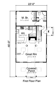 cottage style house plan 2 beds 2 00 baths 1093 sq ft plan 312 619