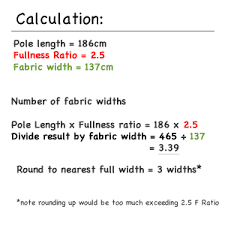 Curtain Size Calculator Pencil Pleat Curtain How To Calculate Fabric Quantities