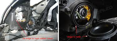 how to install led lights in car headlights led headlight rubber dust cover is important on retrofit