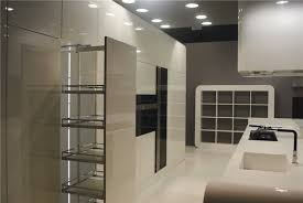 european style high gloss custom red kitchen cabinet door design