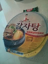 foodie item supermarket gamjatang version from owl of minerva