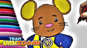 team umizoomi doormouse coloring book coloring page for kids