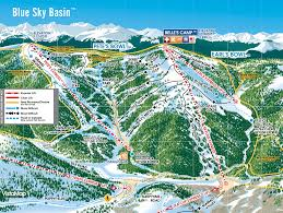 Colorado Ski Map by Explore Vail Explore The Mountain Vail Com