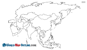 map of asai world map asia outline worldmapoutline