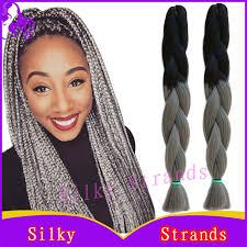 ombre kanekalon braiding hair colors 24 10pcs100g synthetic