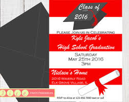 8th grade graduation invitations 8th grade graduation invitations etsy
