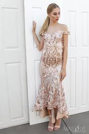 bariano dresses in sequin gown by bariano masque boutique