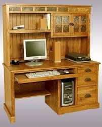 Home Computer Desk Hutch Designs Computer Desk Hutch Sedona Su 2863ro H D