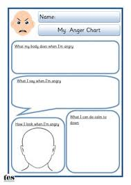free anger and feelings worksheets for kids maps calm down and