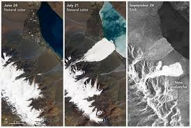 Icy Avalanche Unprecedented U0027 Twin Avalanches Puzzle Glaciologists