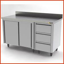 meuble inox cuisine pro armoire inox cuisine professionnelle luxury meuble bas inox avec 3