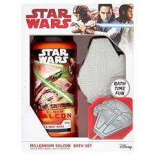 Star Wars Bathroom Set Star Wars Millennium Falcon Bath Set Sainsbury U0027s