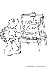 Franklin Coloring Pages Educational Fun Kids Coloring Pages And Franklin Coloring Pages