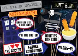 photo booth accessories doctor who photobooth accessories pack printables 16