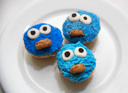 3 ways to make cookie monster cupcakes wikihow