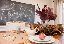 last minute thanksgiving tablescape twelve on