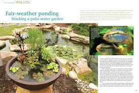 patio ideas water features for backyards pictures outdoor patio
