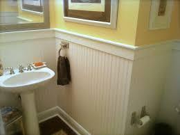 Wainscoting Backsplash Kitchen Bathroom Moisture Resistant Beadboard Lowes Wainscoting Ceiling