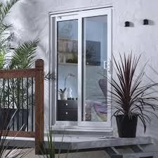 Patio Door Accessories by 6ft White Pvcu Patio Patio Door Frame Pack Departments Diy At B U0026q
