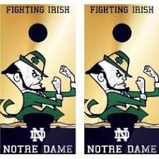 notre dame wrapping paper my alma mater favorite places spaces fighting