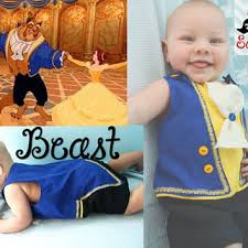 6 Month Boy Halloween Costume Disney Beauty Beast Beast Inspired Jonjon