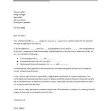 Cover Letter For An Application by Resume Template Cover Letter For Resume Accounting Skills On